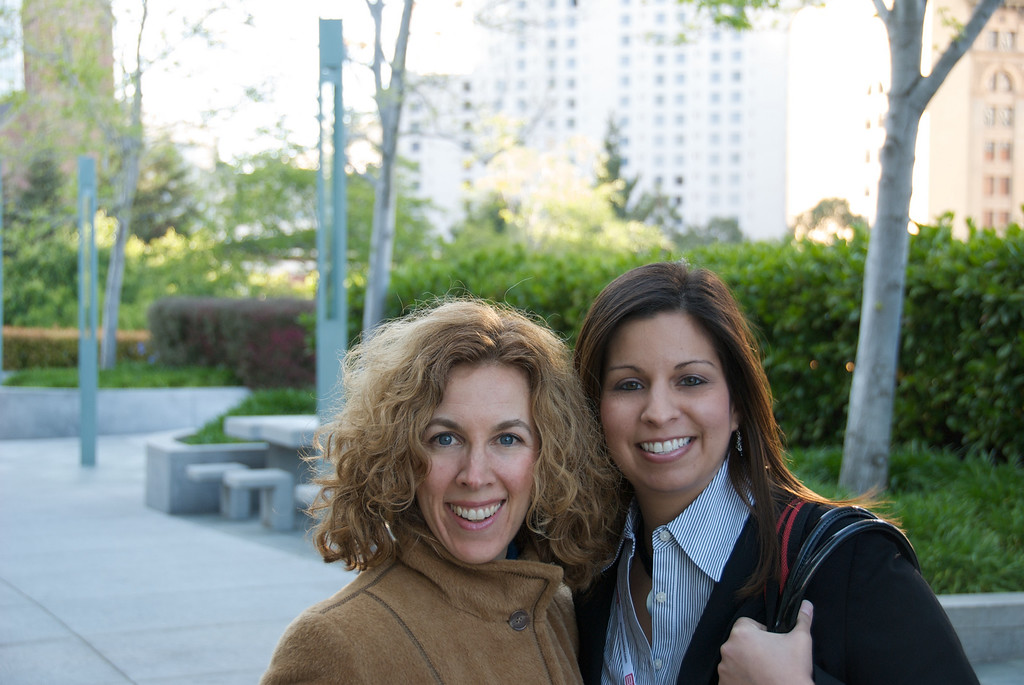 Raquel Rosenthal and Natalie Canavati