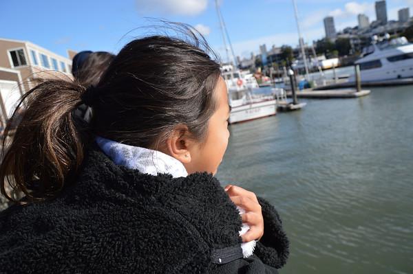 San Francisco Fisherman Wharf and Crabbing Mar 2014