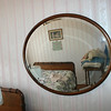 This is the Donlea Drive wooden oval mirror.  I am keeping it for the Oakdene dining room.