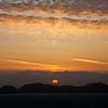 Sunset above Baker Beach