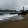 Baker Beach with Golden Gate Bridge