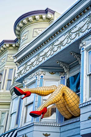 Legs in The Haight