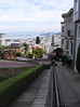 A few of the 400 steps to walk up or down Lombard Street.