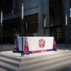 The altar at Grace Cathedral