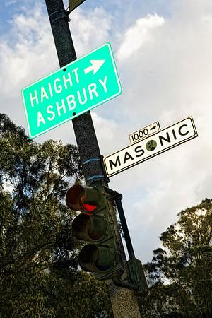 Masonic and Oak St., San Francisco