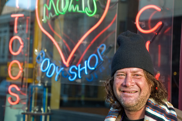 Marvin is a 38 year old Haight resident.