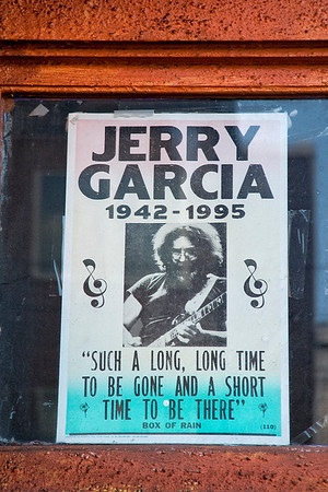 Jerry Garcia Poster, Haight Ashbury