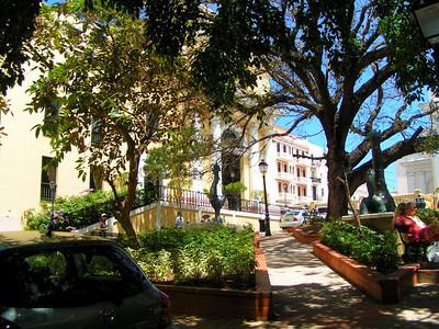 front of our hotel El Convento