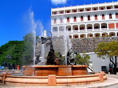 Fountain on Paseo La Princesa