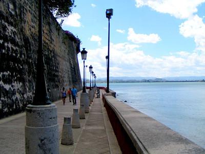 walkway around city wall