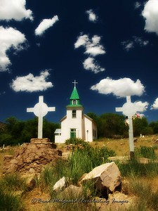 """Silver Crosses"" San Patricio, New Mexico"