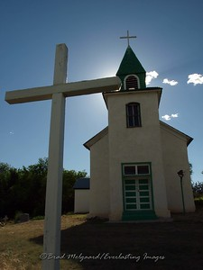 """Cross Glow"" - San Patricio, New Mexico"