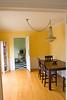 dining room (chandelier left by seller).