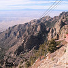 The Front of the sandia Mountains