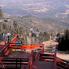 Looking down from the Chairlift