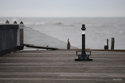 """The """"end"""" of the pier."""