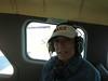 Passenger Sandy ready for take off.