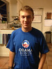 Oops, how did this one get in here?  (Cooper's apparel on Election Day.)