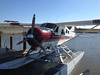 Sea plane will take workers on aerial view of gulf and work area.