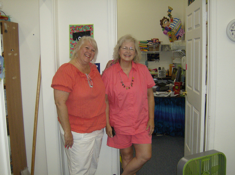 Susan and Donna M.