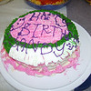 Amy make me a birthday cake and she decorated it herself!