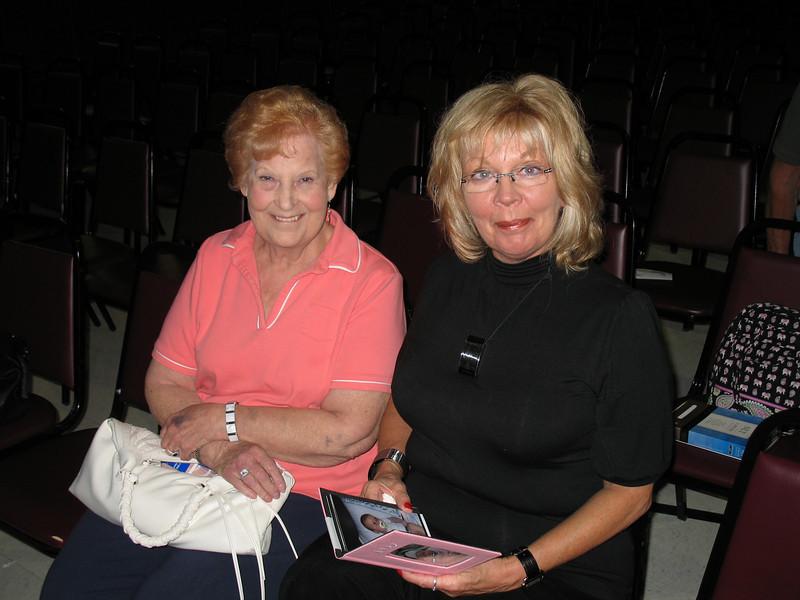 Debbie Tucker and Aunt Elaine