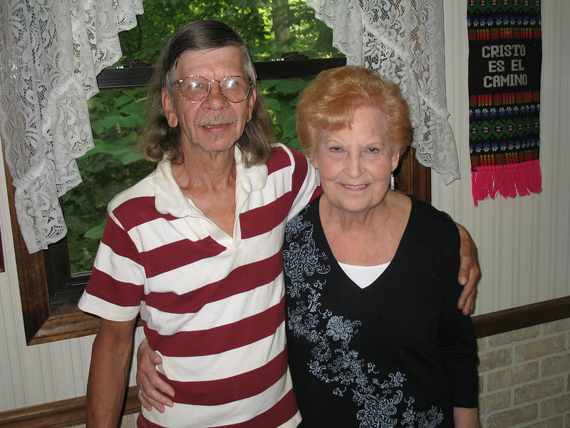 Patrick Burda and Aunt Elaine