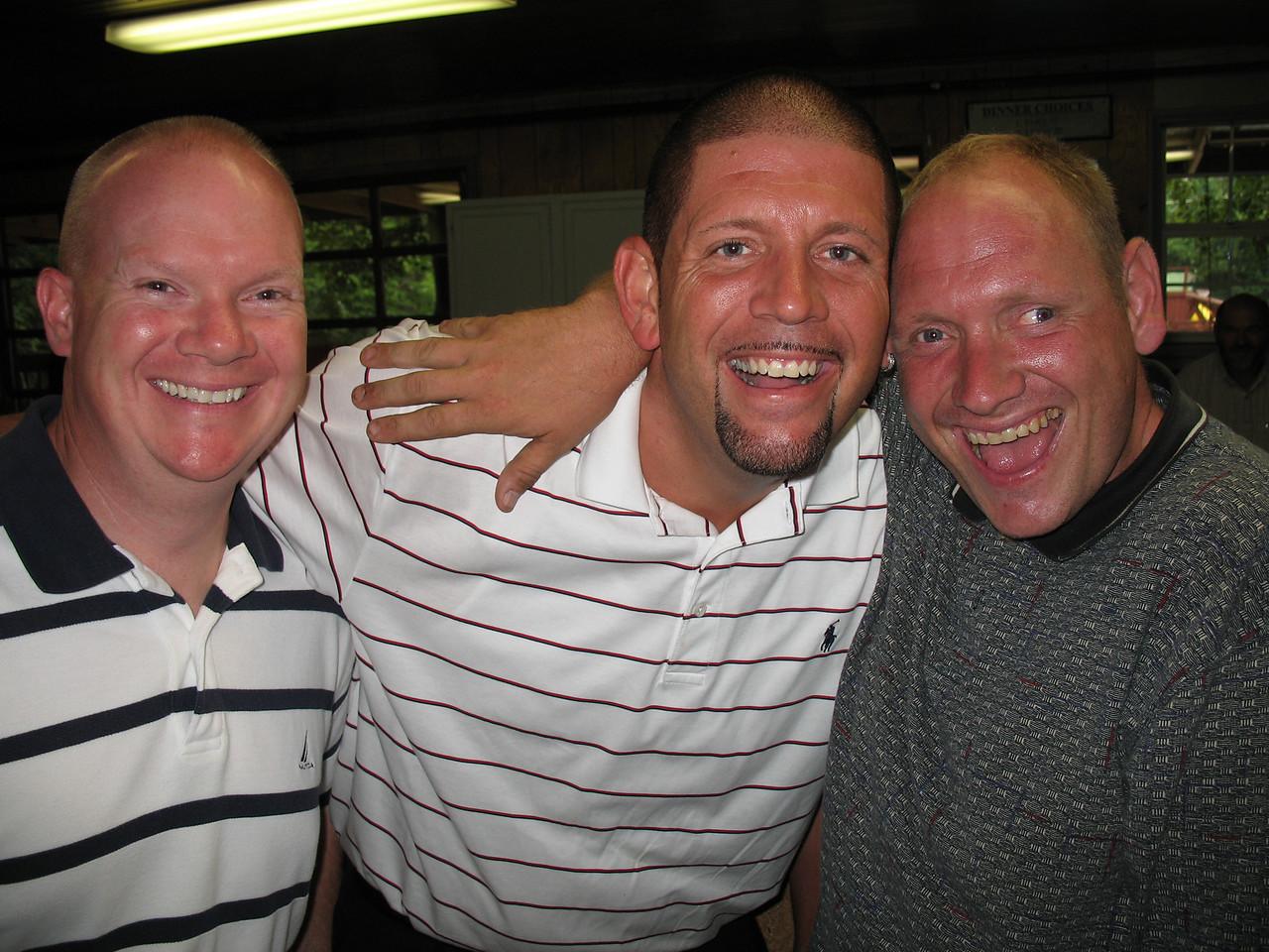 Three Musketeers, John, Mickey Tucker and George Tucker.
