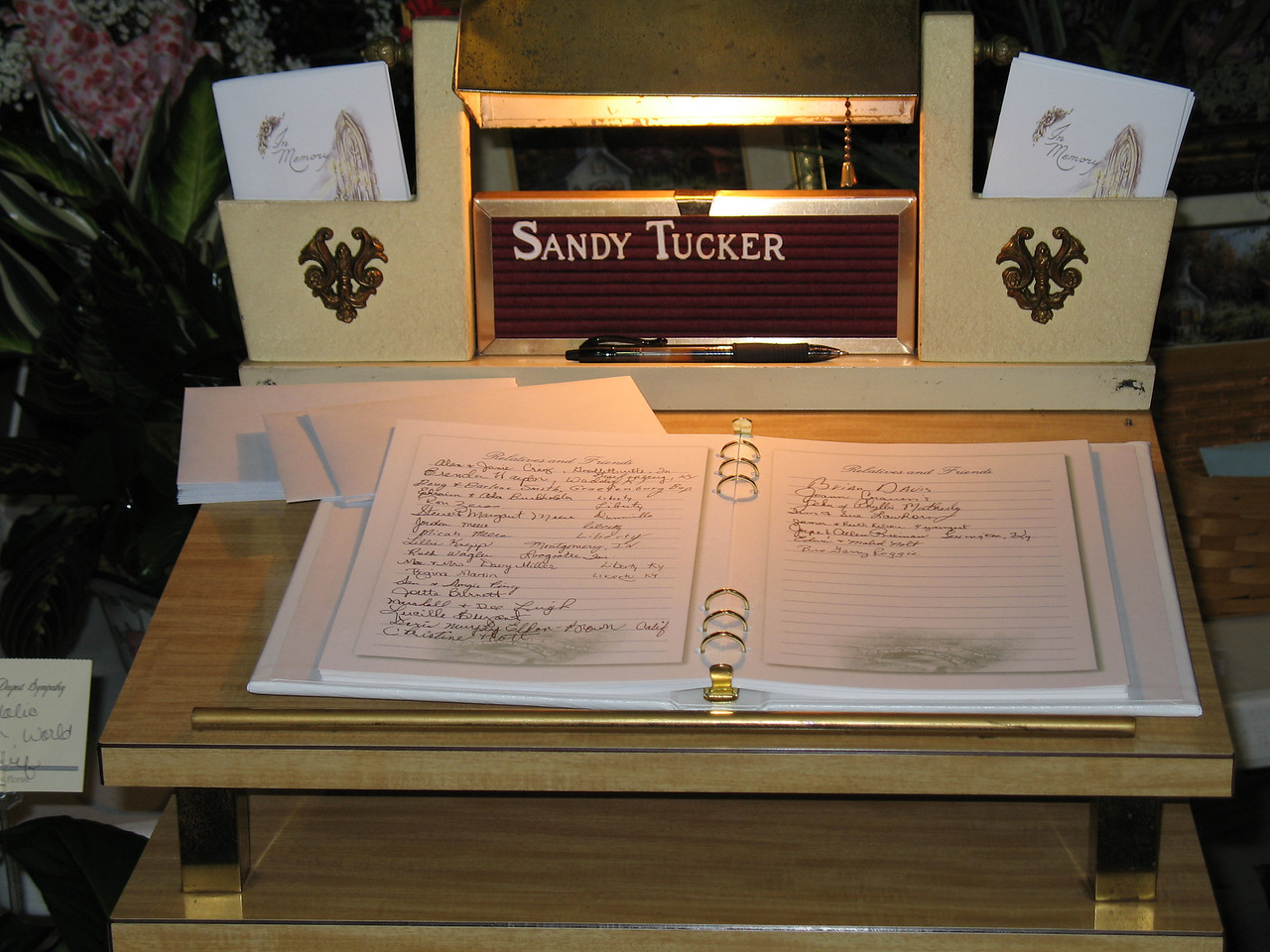 Sandy's Guestbook