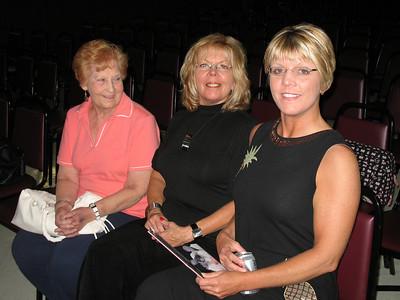 Aunt Elaine, Debbie Tucker and Heidi Tucker