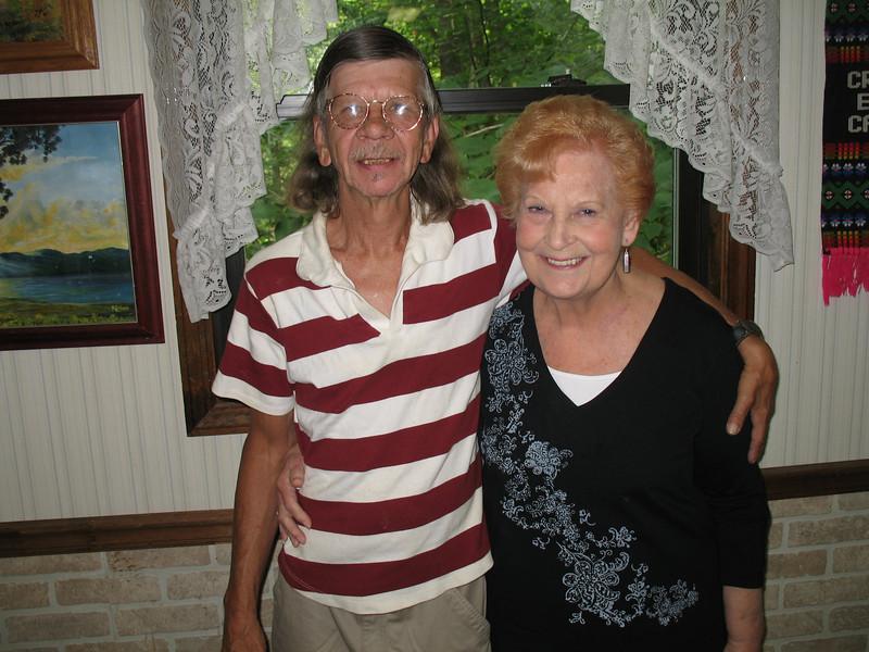 Patrick Burda and Aunt Elaine