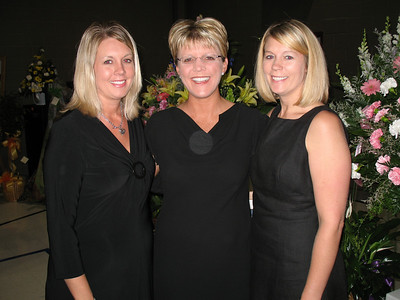 Becky Martin, Heidi Tucker, and Jessica Stephens