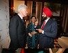 Hillary Clinton US Presidential Candidate  thanking her voters in NY   at a Super Tuesday Party at Manhatten Center in NY on 5th feb-08 , Sant Singh Chatwal, hotelier and founder 'Indian American for Hillary 2008 (IAFH) can be seen in pic  ,...pic Mohammed Jaffer-SnapsIndia