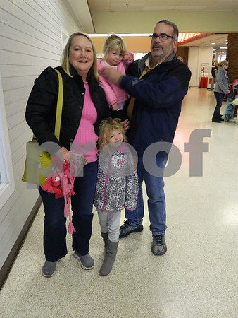 left to right: Lorit Roger Algoe, Emily and Lauren Scott