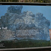 This is the sign that explains the geography and events that created the environment for the cliff dwellings.