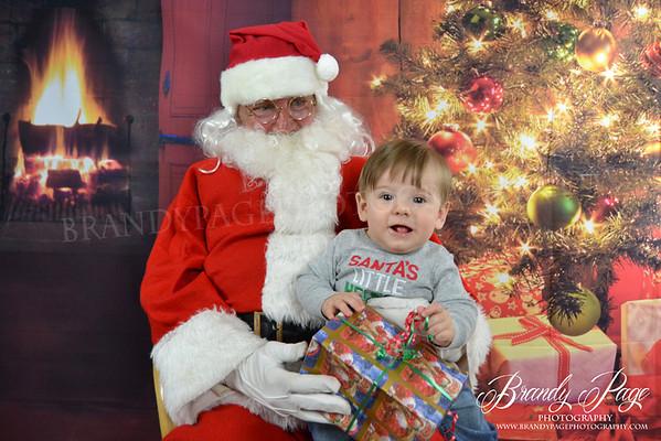 Santa Photos Smoot Family