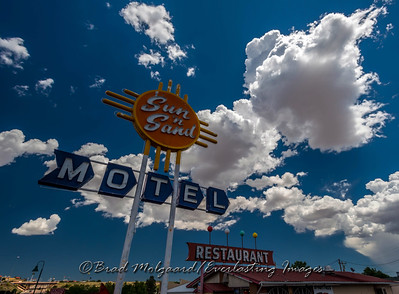 Nostalgic Sun 'n' Sand, Santa Rosa, NM