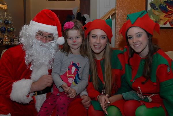 Santa Visits Katherine