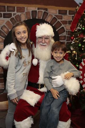 Santa at Chick Fil A Prattville