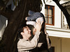 M234 / Rough and Tumble Play / Choice 1 of 10 / Father Playing with Baby --- Image by © Serge Kozak/Corbis