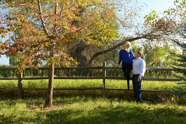 Sarah and Damon engagement