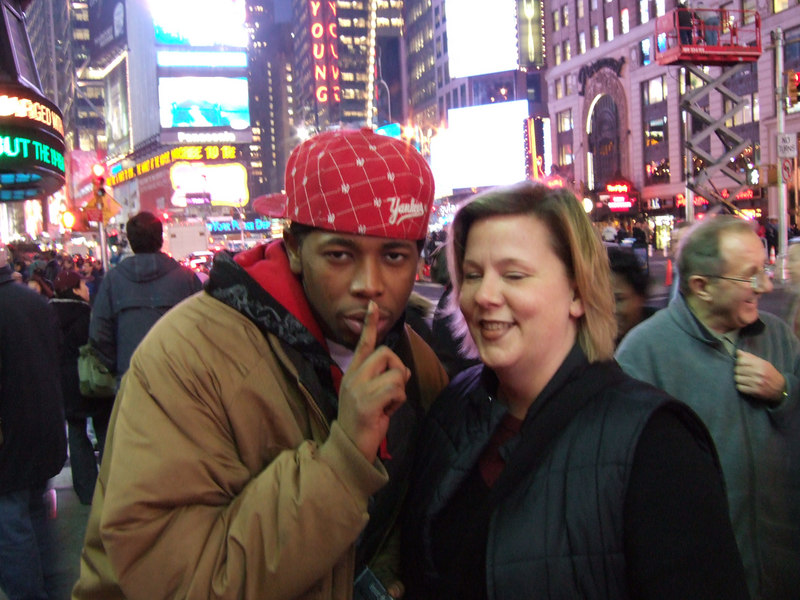 Stephanie purchased a Rap CD from this artist on the street corner for $5.00.