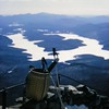 lake placid from whiteface, apr 1970