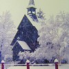 2 12 2015 Snowy morning -St Lukes Episcopal Church, feb 1981