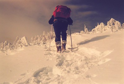 3 24 2014  Climbing St Regis Mt , feb 4, 1979