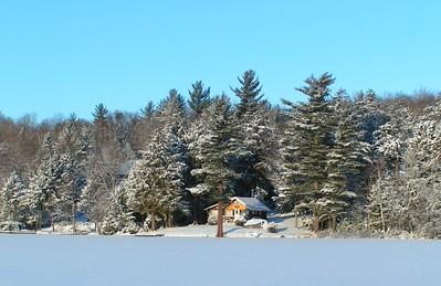 Saranac Lake - Like a Christmas Card