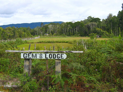 the entrance to the lodge we stayed at in bario, in the kelabit highlands.