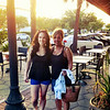 Jamie & Mom at Pele's Wood Fire restaurant on Park Street in Riverside, Jacksonville.  Yummy!