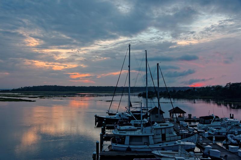 Sunset, Skidaway Island