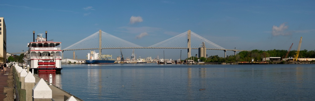 Savannah - Riverfront Panorama